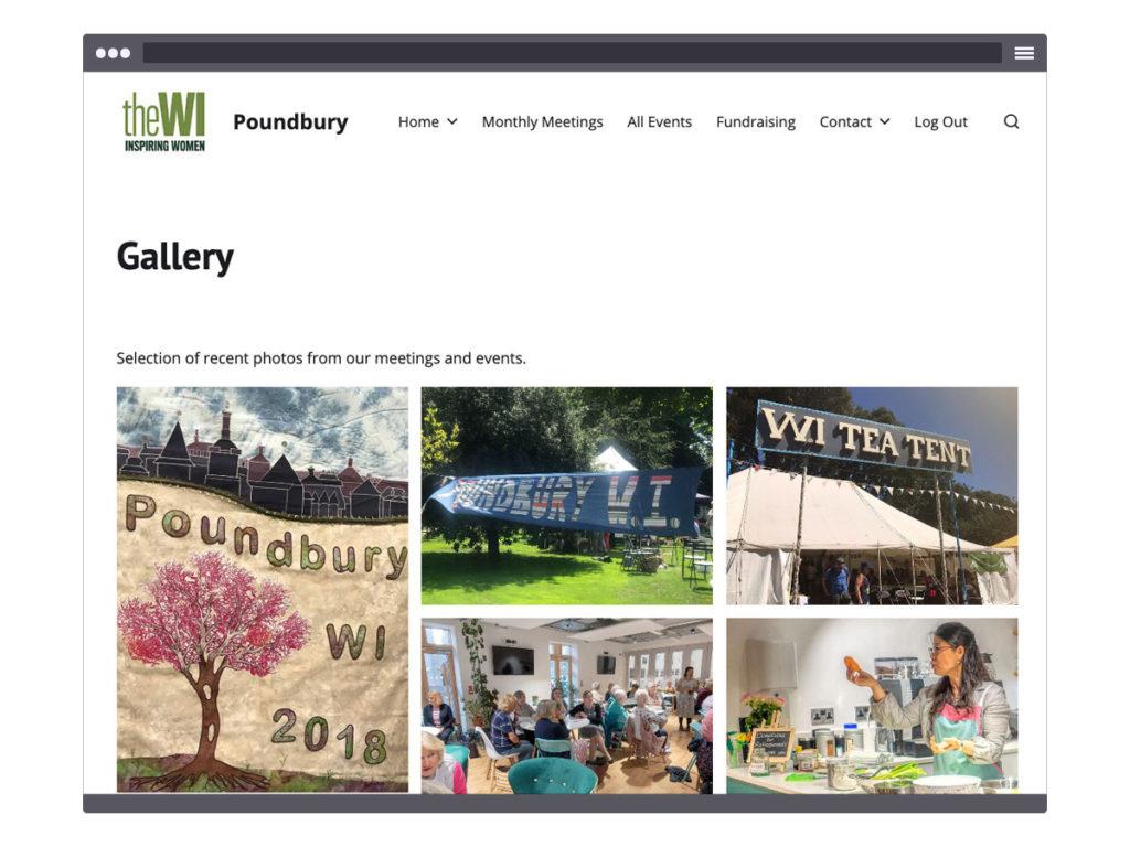 Poundbury WI ~ Gallery Page