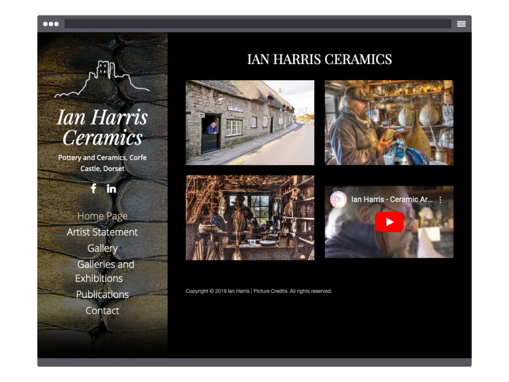 Ian Harris Ceramics - Home Page