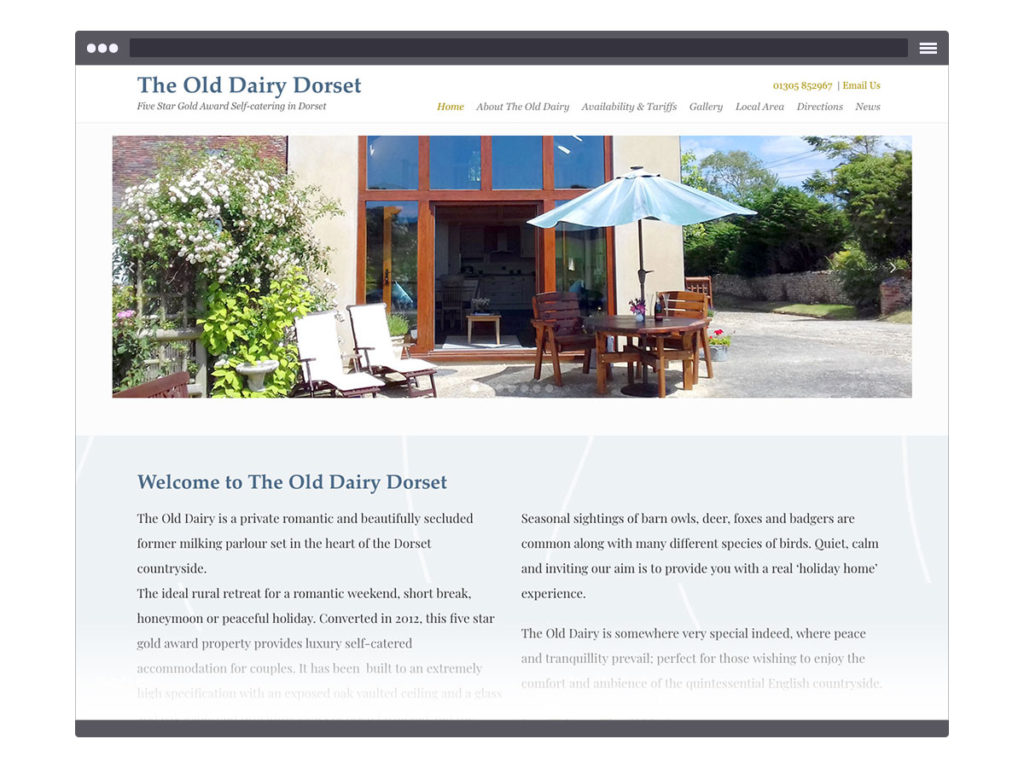 The Old Dairy Dorset ~ Home Page